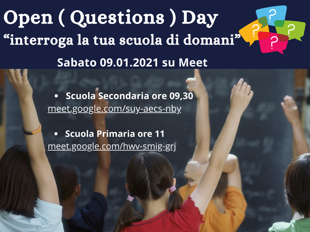 Open Questions Day!